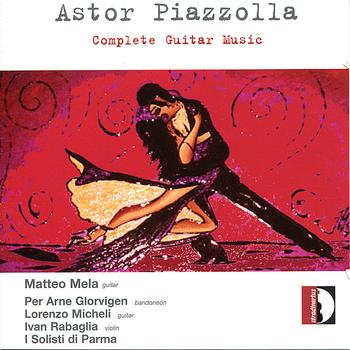 Astor Piazzolla Complete Guitar Music CD